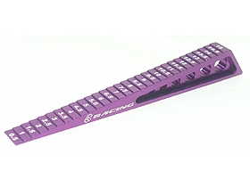 CHASSIS RIDE HEIGHT GAUGE / PURPLE