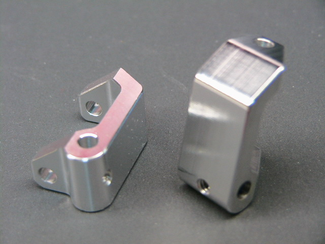 Aluminum 25 Degree Caster Blocks