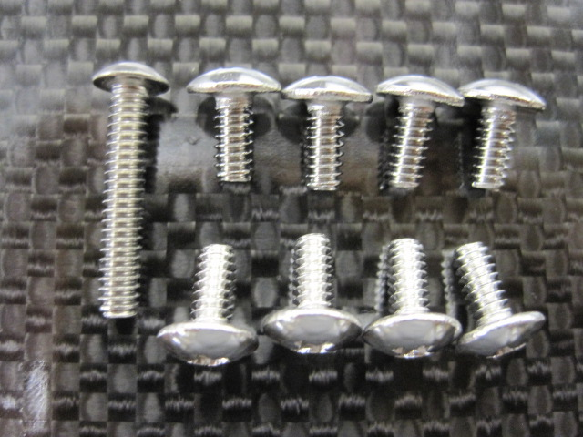 'BIG HEAD' SHORT BODY SCREWS