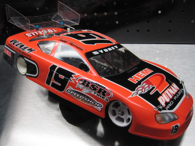 1/12 PUTNAM AERO-1 CHARGER OVAL BODY