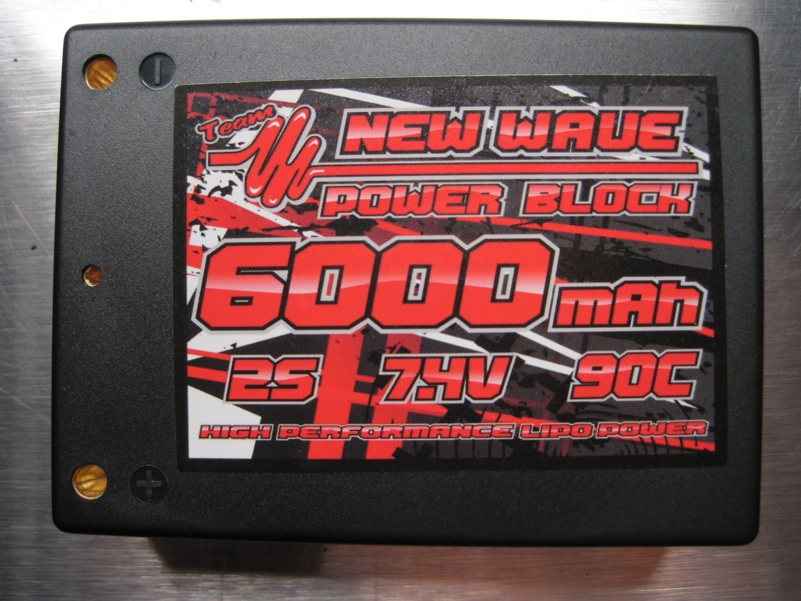 New Wave 6000 / 90C Lipo Brick Pack