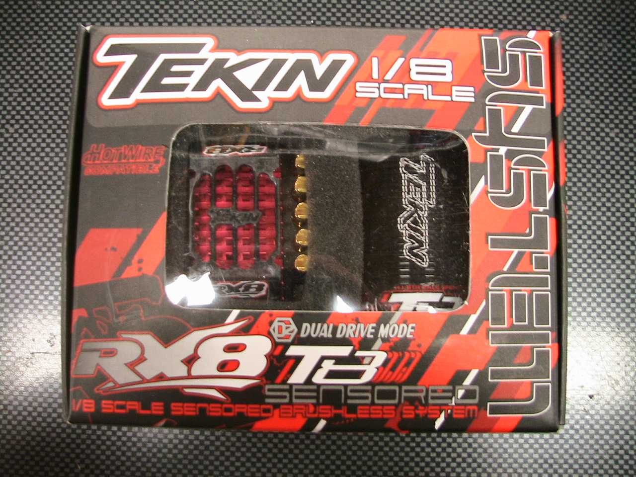 RX8 Brushless Sysytem