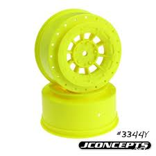 J CONCEPTS HAZARD WHEELS / YELLOW