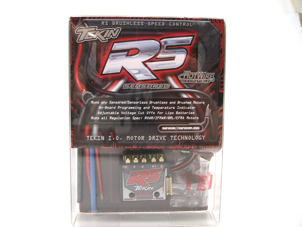 Tekin RS Brushed/Brushless Electronic Speed Control
