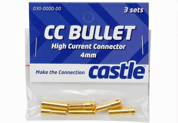CASTLE 4mm Bullet Connectors